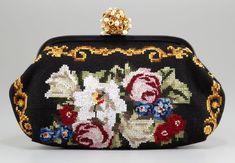 Dolce & Gabbana Miss Dea Needlework Clutch