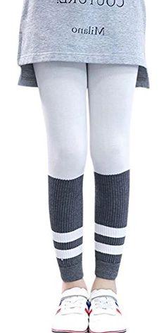 afae19de811a ESHOO 3-11 Years Girls Ruffle Leggings Culottes Tutu Skirt Leggings ...