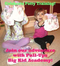 Celebrate the potty training adventure with Pull-Ups Big Kid Academy @homeonderange #PullUpsAcademy #MC #sponsored
