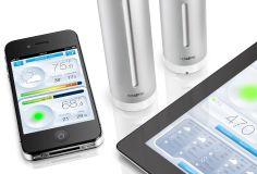 Produkt - Messen Sie Ihre Umwelt mit Netatmo Wetterstation, Thermometer, Hygrometer, Lautstärkemesser, für iPhone und iPad.