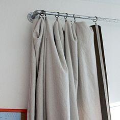 Meer dan 1000 idee n over gordijnen ophangen op pinterest for Ophangsysteem gordijnen