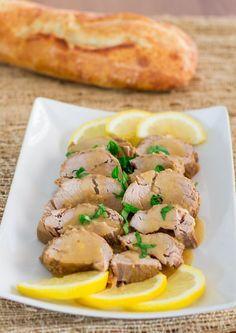 Crockpot Cuban Style Pork Tenderloin