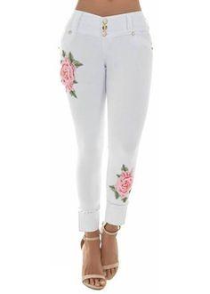 Rose Bomb Jean