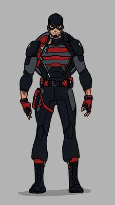 Superhero Suits, Superhero Cosplay, Superhero Design, Marvel And Dc Characters, Marvel Comic Character, Marvel Dc, Mundo Superman, Captain America Suit, Marvel Concept Art