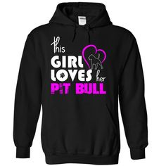 (Cheap) This Girl Loves Her Pit Bull - Buy and Order Now