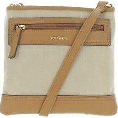 Rosetti Cali Women's Faux Leather Adjustable Crossbody Handbag | eBay Tan Handbags, Cross Body Handbags, Summer Vacation Outfits, Zipper Bags, Cali, Leather Crossbody, Classic Style, Pouch, Colors