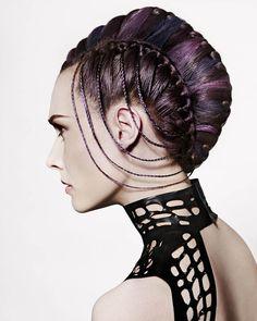 Hairdressers Journal - British Hairdressing Newcomer of the Year Award Winner 2014 - Jamie Benny