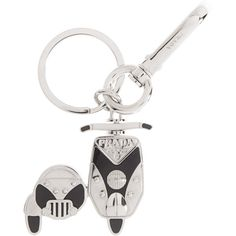 PRADA Scooter and Side Car Key Chain