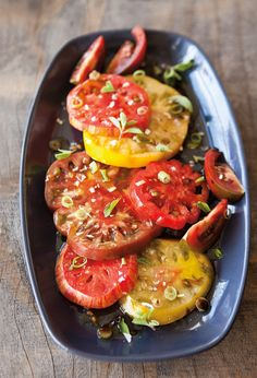 Splash these summer beauties with a double dose of bright vinegars, and they'll really shine!