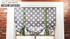 Photos: DIY No-Sew Curtain | Knock It Off! | The Live Well Network