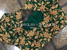 Cutwork Blouse Designs, Cotton Saree Designs, Wedding Saree Blouse Designs, Half Saree Designs, Simple Blouse Designs, Blouse Patterns, Saree Wedding, Hand Work Blouse Design, Bridesmaid Saree
