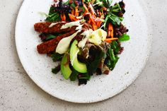 Vegan Sushi Salad Plate   LovingEarth