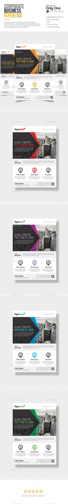 Corporate Flyer Template PSD. Download here: http://graphicriver.net/item/corporate-flyer/15190471?ref=ksioks