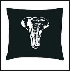 Vintage Suitcases Scatter Cushion Cover by Pokkki on Etsy, Elephant Cushion, Vintage Suitcases, Scatter Cushions, Vintage Bicycles, Vintage Flowers, Cushion Covers, Decoration, Home Projects, Africa