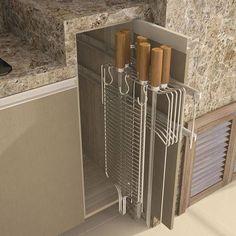 Kitchen Island Ideas with Seating & Storage Diy Outdoor Kitchen, Rustic Kitchen, Kitchen Decor, Parrilla Exterior, Seat Storage, Small Room Bedroom, Kitchen Pantry, Decoration, Kitchen Design