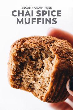 Healthy Vegan Snacks, Vegan Treats, Healthy Baking, Healthy Desserts, Healthy Muffins, Vegan Lunches, Raw Desserts, Gourmet Recipes, Baking Recipes