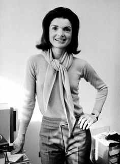 Jackie Kennedy Onassis, editor.