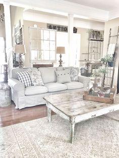 37 Rustic Farmhouse Living Room Decor Ideas