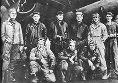 "Dad's wing plane men from the Red Gremlin.  Paul Tibbetts pilot; Theodore ""Dutch"" Van Kirk navigator; Tom Ferebee bombardier."