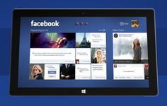 Facebook for Windows 8 - prototype