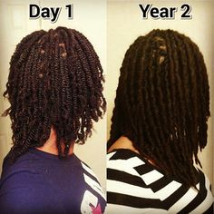 Loc journey progress: Use our Protein Styling gels to help hold your strands in place for longer periods of time, allowing your strands to fuse and your hair to grow longer. Tip: Use Shine 'n Jam for added flexibility. Natural Hair Inspiration, Natural Hair Tips, Natural Hair Journey, Natural Hair Styles, Natural Dreads, Fine Natural Hair, Megan Good, Dreadlock Hairstyles, Braided Hairstyles