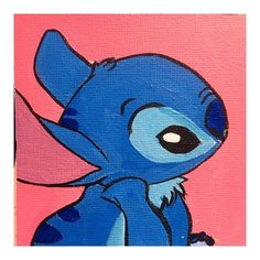 Custom cartoon acrylic and gouache canvas painting - Ideas de pintura para principiantes 2020 Disney Canvas Paintings, Disney Canvas Art, Cute Paintings, Acrylic Painting Canvas, Chalk Painting, Gouache Painting, Hippie Painting, Trippy Painting, Cartoon Painting