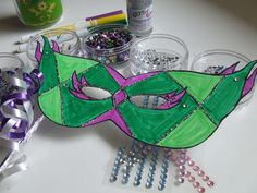 Waltzing Matilda: Mardi Gras Masks
