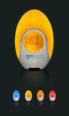 Image shows the four colour changes of Gro Egg