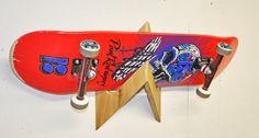 Shark Racks - Single - Skateboard Display Rack - Natural