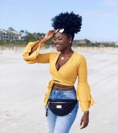 Casual Denim Outfits & Best Women Fashion Buys for Summer 2018 Casual Denim Outfits – Best Women Fashion Buys for Summer reported.Trending Summer Outfits To Take N School Looks, Black Girl Magic, Black Girls, Black Women Fashion, Womens Fashion, Fashion Top, Female Fashion, Fashion Trends, Cabello Afro Natural