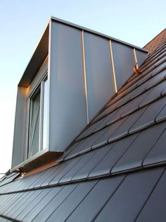 Roof Architecture, Classical Architecture, Sustainable Architecture, Architecture Details, Facade Design, Roof Design, Dormer Roof, Glass House Design, Mansard Roof