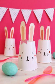 giochi di Carta: Pasqua poco DIY coniglio