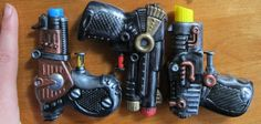 Crafters In Disguise: Steampunk Squirt Guns
