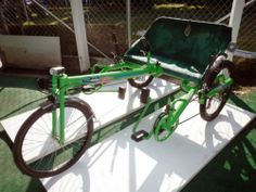 Ricksycle A Recumbent Tandem Delt Tricycle All in One   eBay