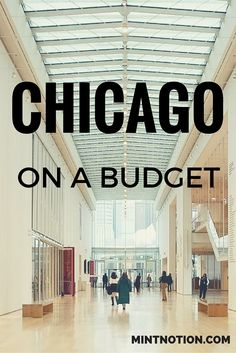 Quick guide to visiting Chicago on a budget. Perfect guide for first-time visitors! These tips are SO helpful and allowed me to see the city's top attractions for cheap.