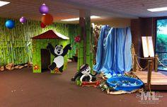 pandamania VBS decoration ideas stampin up