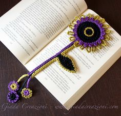 Jade Creations: For Those Who love reading, a flower bookmark ...