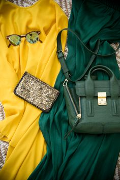 Green & Yellow- #Baylor Fashion // #SicEm