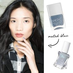 - Not too gray and not too pastel, this cool light blue is just what you need forin-between time.