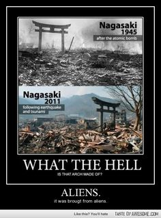 Seriously, what IS it made of to survive a nuclear blast AND a tsunami? O.o
