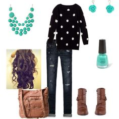 """First day of school"" by holli-christensen on Polyvore"