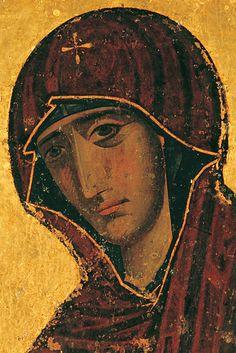 "Cyprus - ""Panagia tou Machaira"" Monastery Byzantine Icons, Byzantine Art, Religious Icons, Religious Art, Orthodox Catholic, Archangel Raphael, Russian Icons, Religious Paintings, Best Icons"