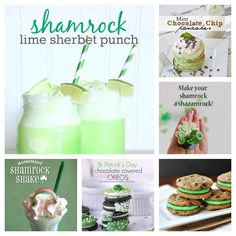 A great round up of the best St. Patrick's Day printables, recipes and crafts | theidearoom.net