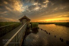 Sunset Ilperveld Holland 03-07-17 by karelton via http://ift.tt/2ukN8sK