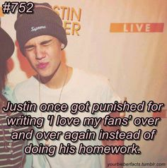 Just shows how absolutely AMAZING!! He is... Justin  xxxxxxx