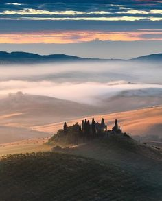 Pienza Tuscany Italy   Photography by @elialocardi. #OurPlanetDaily by…