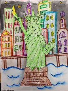 Statue of Liberty craft Directed draw