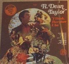 R Dean Taylor I Think Therefore I Am Indiana Wants  MeVinyl Pop Record Album by RASVINYL on Etsy