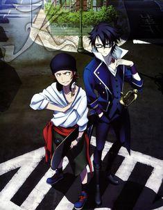 Yata and Fujimi from K.