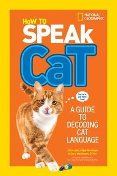 With veterinarian expert Dr. Gary Weitzman as guide, this fun book helps kids understand what cats are trying to communicate by their body language and behavior. So if you've ever wondered what Fluffy means when she's purring or moving her tail emphatically from left to right - this book is for you! It's full of insights, expert advice, and real-life cat scenarios, and showcases more than 30 poses, so you'll soon learn what each meow and flick of the tail means!